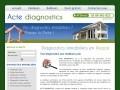 Acte diagnostics